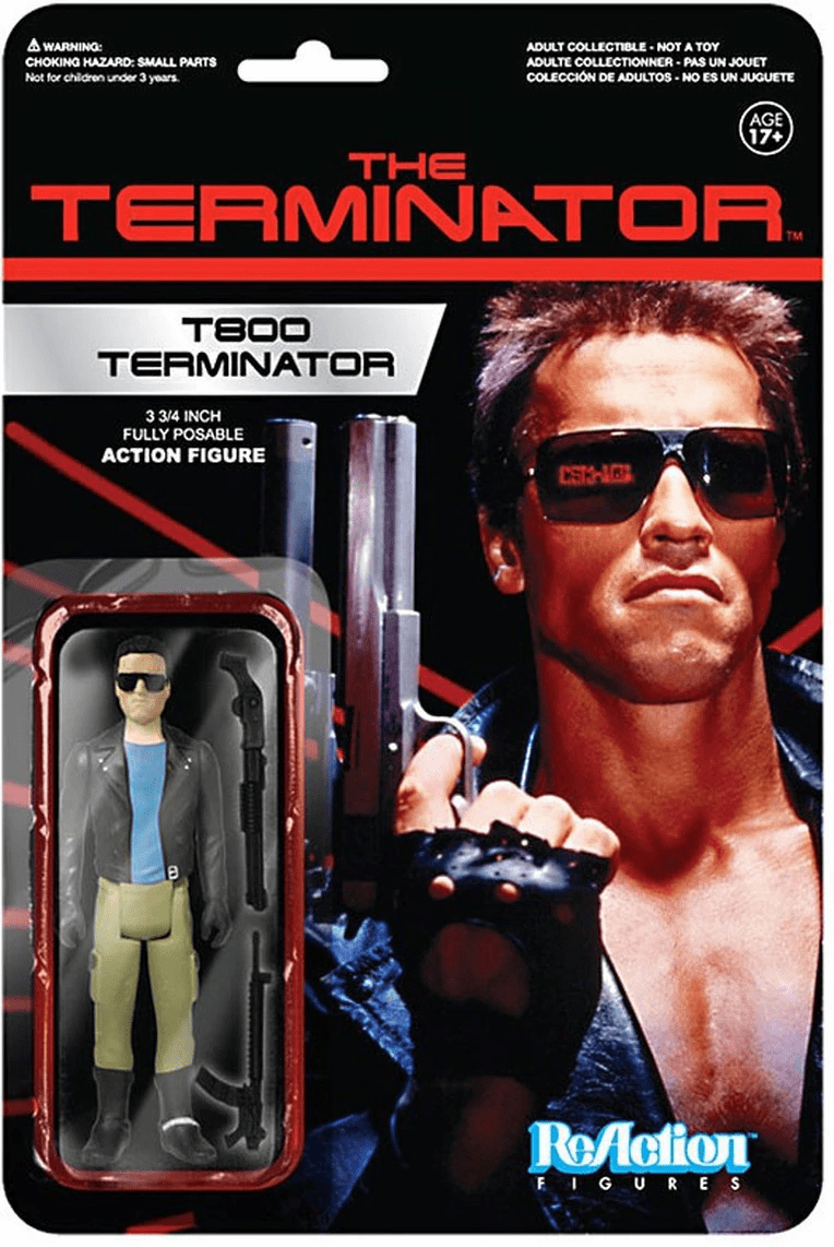 ReAction The Terminator T-800 Figure