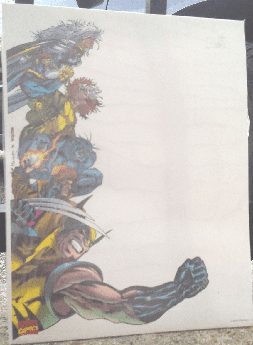 "Rediform Marvel Comics X-Men 8.5""x 11"" Memo Sheets"