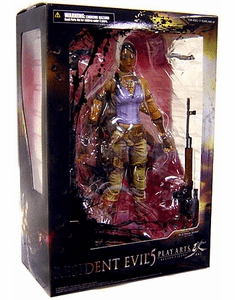 Resident Evil 5 Play Arts Kai Sheva Alomar Action Figure