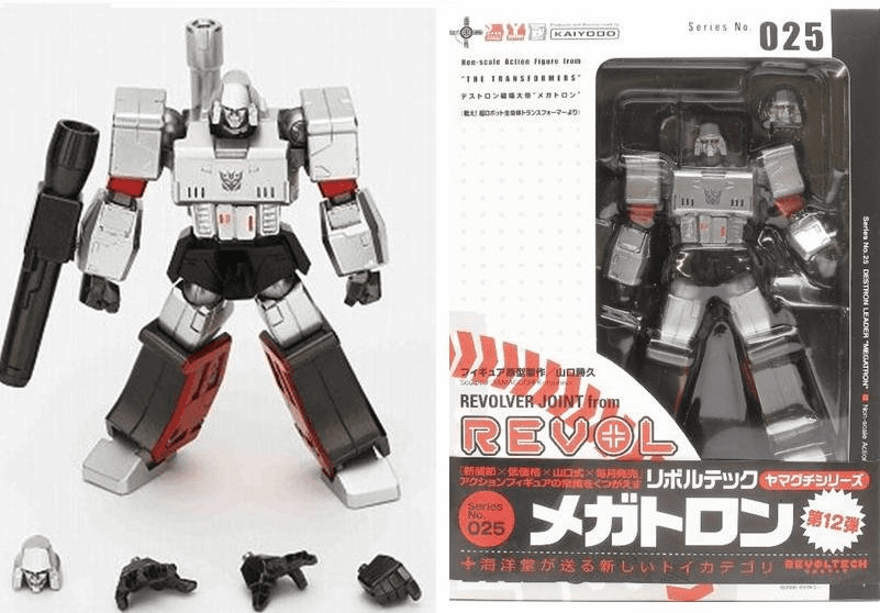 Revoltech #25 Destron Leader Megatron Action Figure