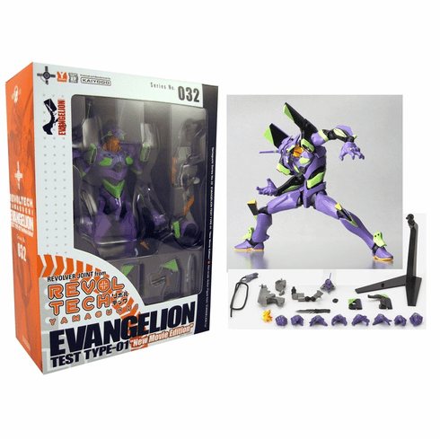 Revoltech #32 Neon Genesis Evangelion Test Type-01 New Movie Figure