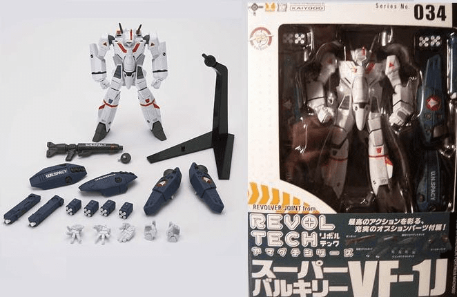 Revoltech #34 VF-1J Super Valkyrie Action Figure