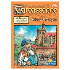 Rio Grande Games Carcassonne Abbey & Mayor Expansion Set