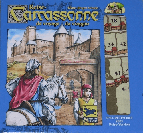 Rio Grande Games Carcassonne Travel Edition