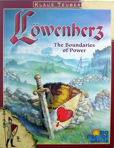 Rio Grande Games Loewenherz Board Game
