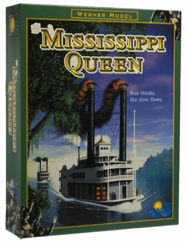 Rio Grande Games Mississippi Queen Board Game