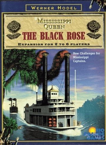 Rio Grande Games Mississippi Queen The Black Rose Board Game