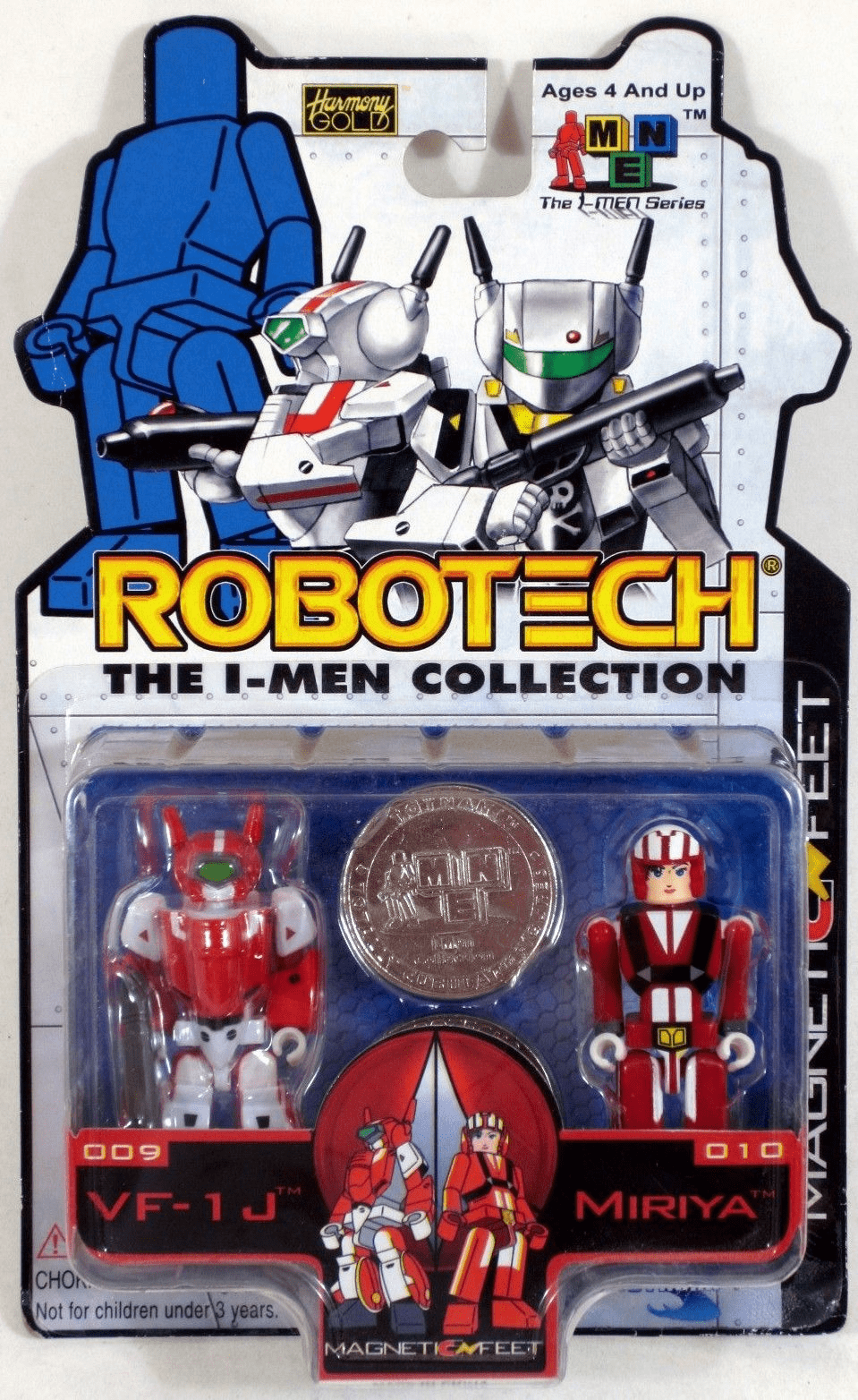 Robotech The I-Men Collection VF-1J and Miriya Set