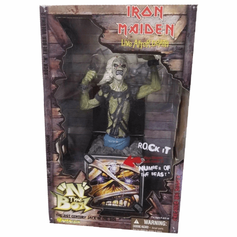 Rock N The Box Iron Maiden Live After Death Musical Box