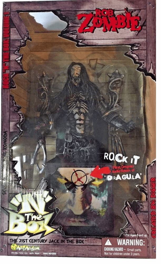 Rock N The Box Rob Zombie Dragula Musical Box