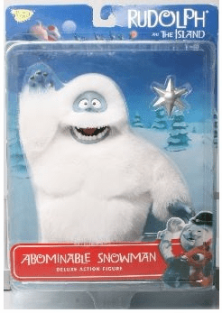 Rudolph the Red-Nosed Reindeer Abominable Snowman Figure