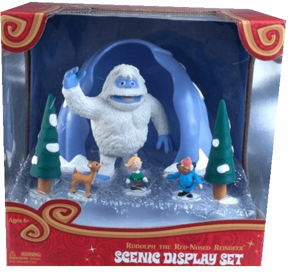 Rudolph the Red-Nosed Reindeer Bumble's Cave Scenic Display Set
