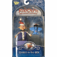 Rudolph the Red-Nosed Reindeer Charlie-In-The-Box Figure