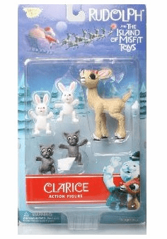 Rudolph the Red-Nosed Reindeer Clarice Figure