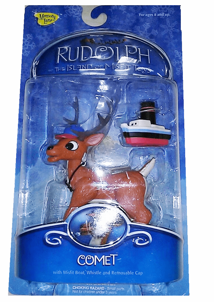 Rudolph the Red-Nosed Reindeer Comet Figure