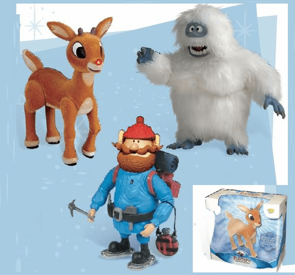 Rudolph the Red Nosed Reindeer Deluxe Talking Figures