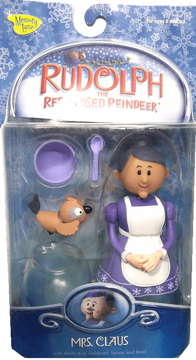 Rudolph the Red-Nosed Reindeer Mrs. Claus Figure