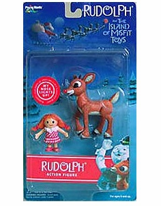 Rudolph the Red-Nosed Reindeer Rudolph Figure