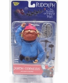 Rudolph the Red-Nosed Reindeer Yukon Cornelius Figure