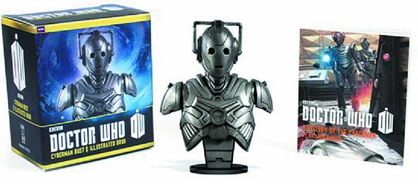 Running Press Doctor Who Cyberman Bust Kit