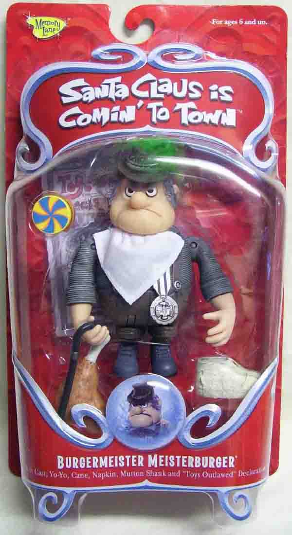 Santa Claus is Coming to Town Burgermeister Meisterburger Figure