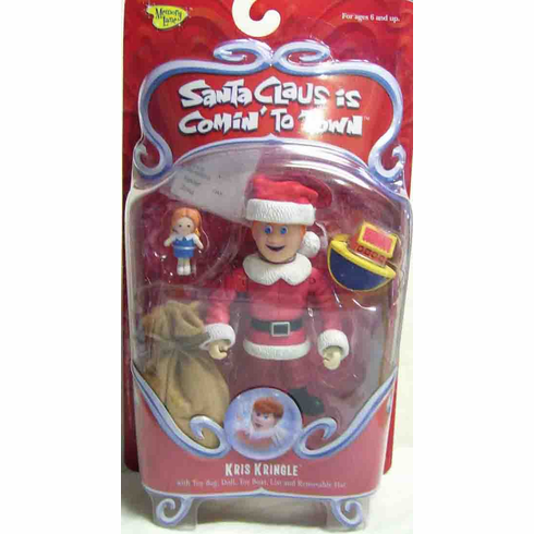 Santa Claus is Coming to Town Kris Kringle Action Figure