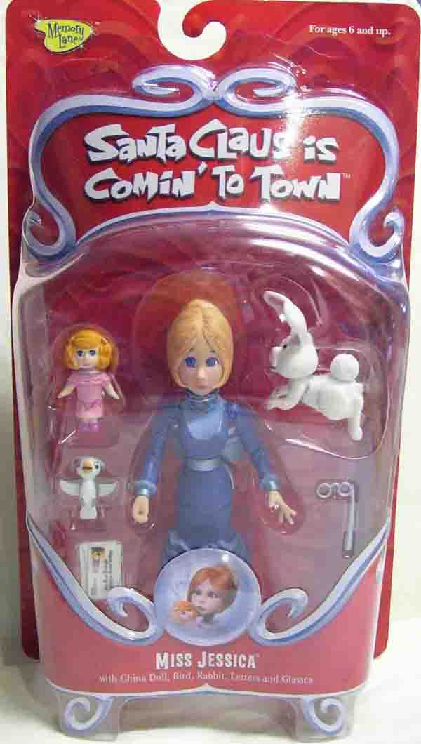 Santa Claus is Coming to Town Miss Jessica Action Figure