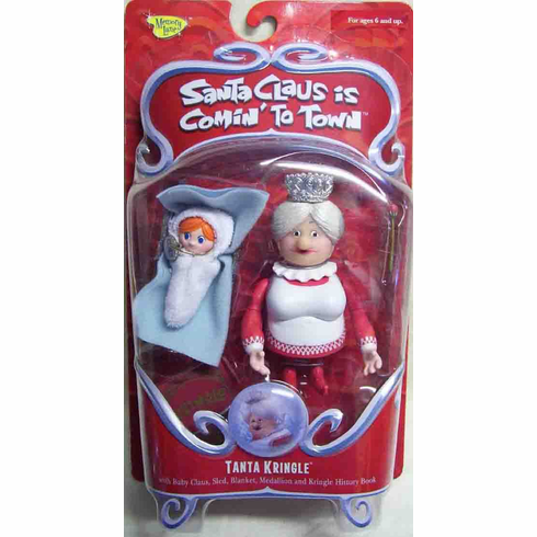 Santa Claus is Coming to Town Tanta Kringle Action Figure