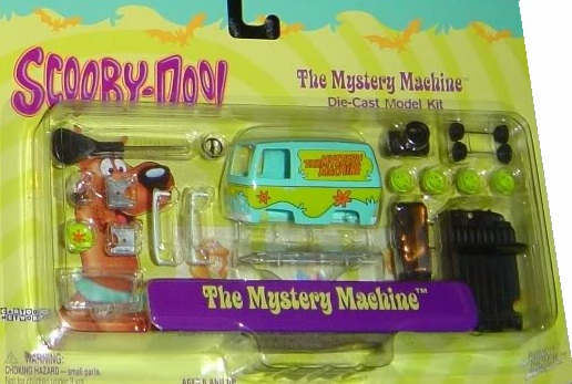 Scooby-Doo Johnny Lightning The Mystery Machine Die-Cast Model Kit