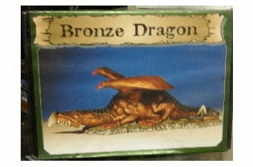 Scotia Grendel Productions Bronze Dragon Miniature Display