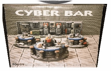 Scotia Grendel Productions Cyber Bar Miniature Display