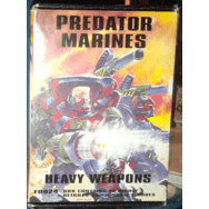 Scotia Grendel Productions Predator Marines Heavy Weapons Miniatures