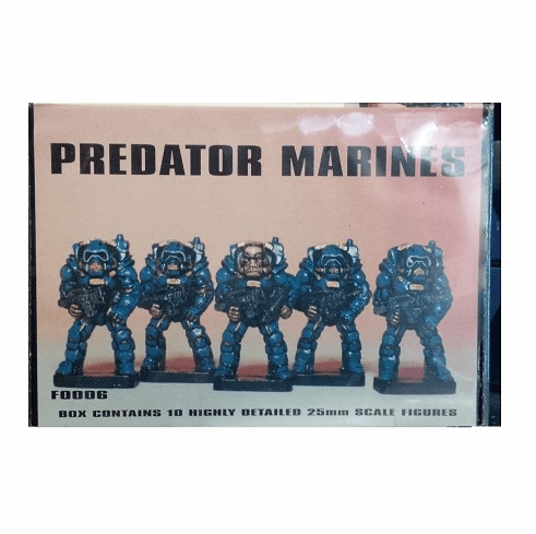 Scotia Grendel Productions Predator Marines Miniatures