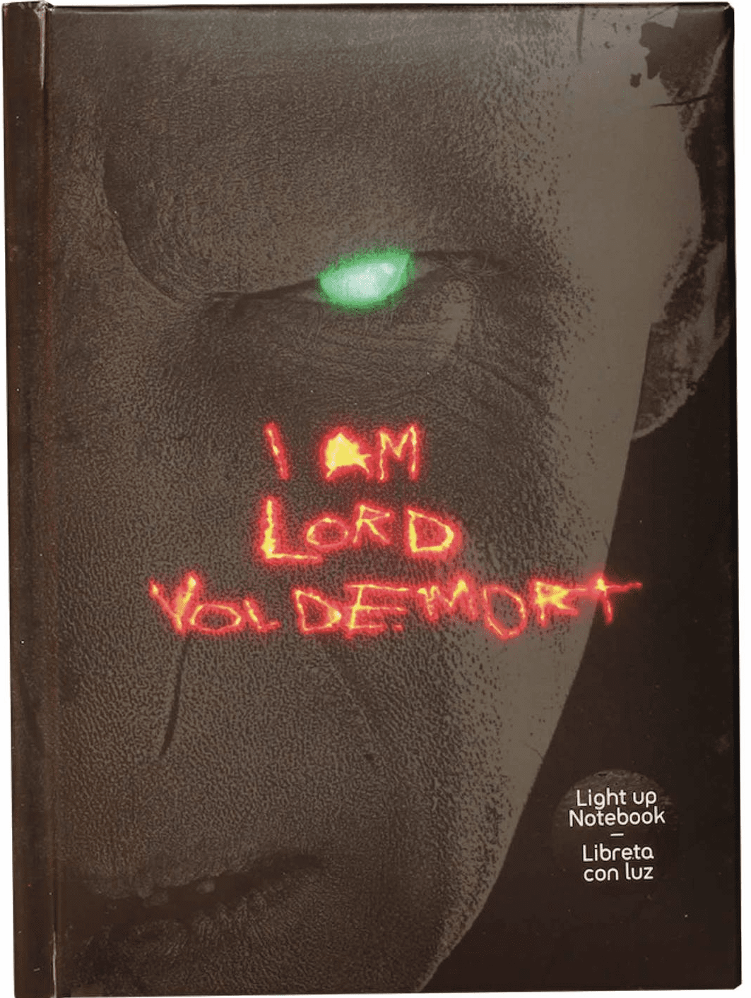 SD Toys Harry Potter Lord Voldemort Light Up Notebook