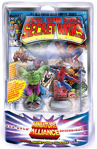 Secret Wars Miniature Alliance Hulk & Spider-Man Set