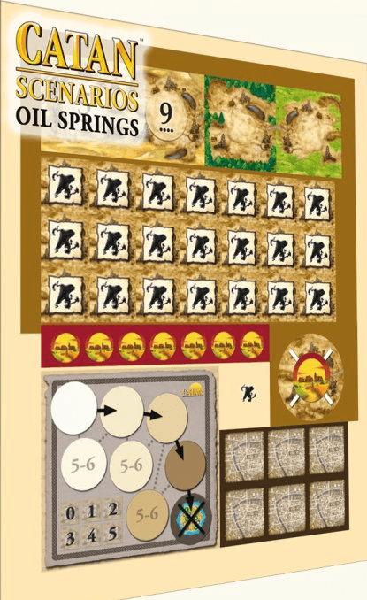 Settlers of Catan Oil Springs Expansion Pack