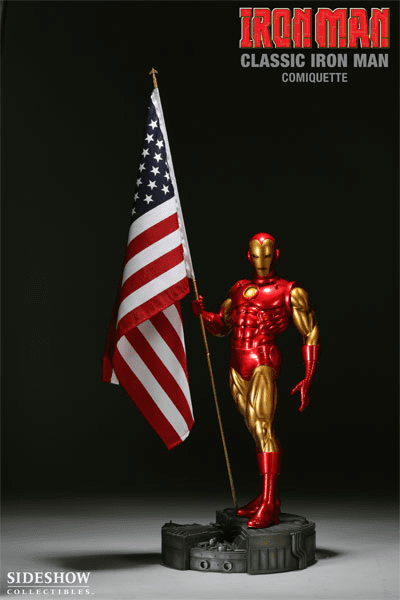 Sideshow Collectibles Classic Iron Man Comiquette Statue
