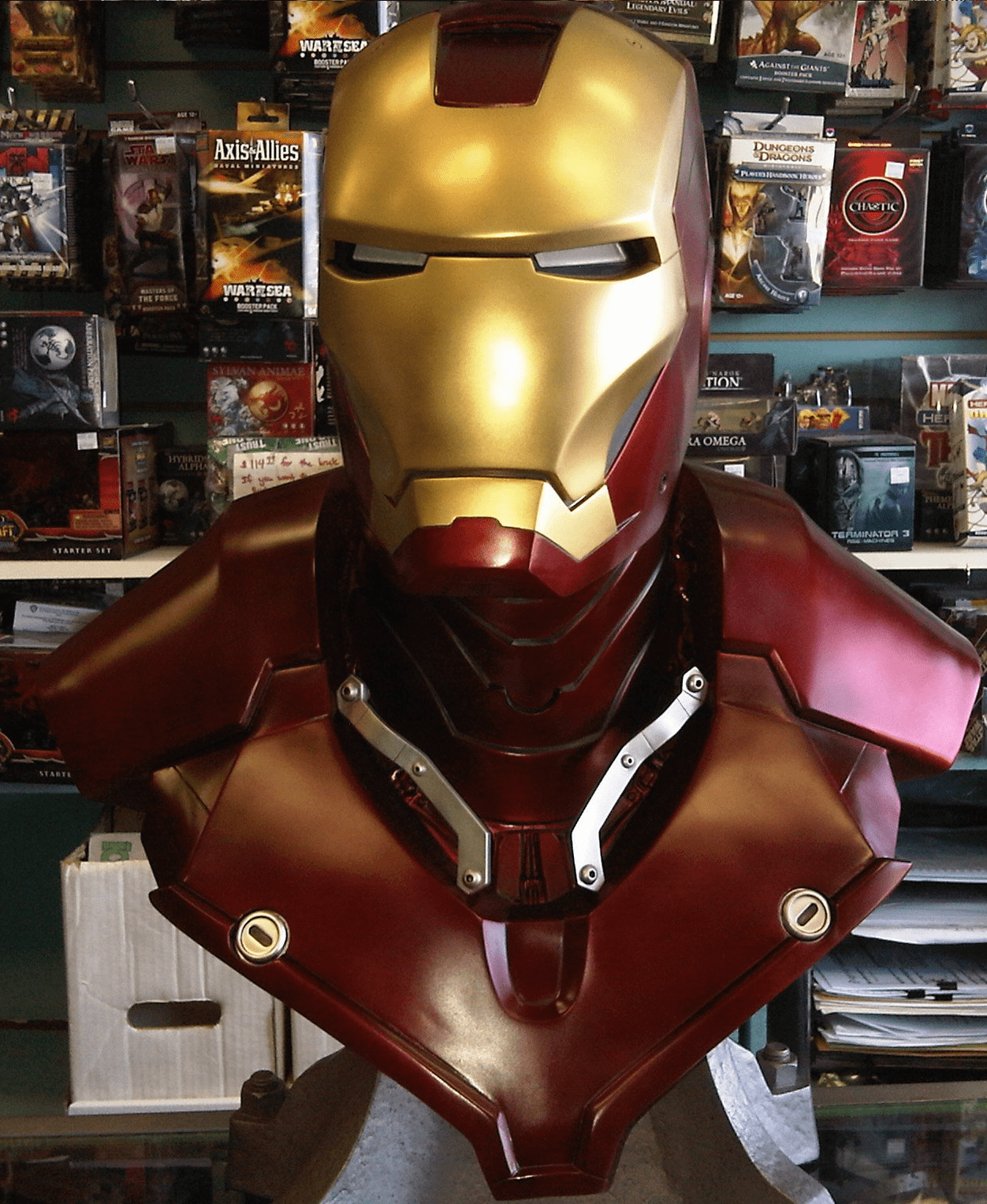 Sideshow Collectibles Marvel Iron Man Life-Size Bust