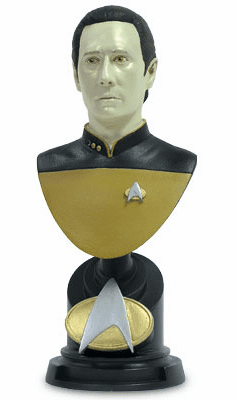 Sideshow Collectibles Star Trek Lt. Commander Data Bust