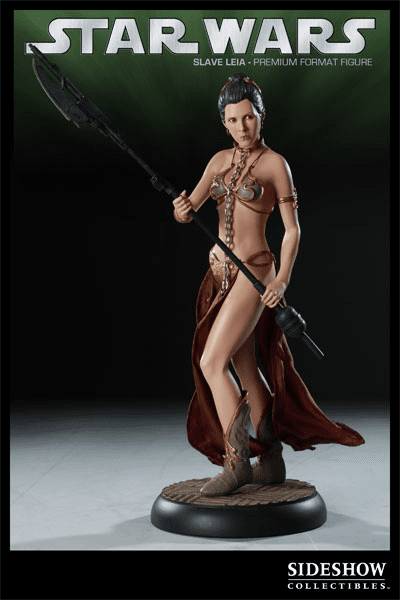 Sideshow Collectibles Star Wars Slave Leia Premium Format Figure