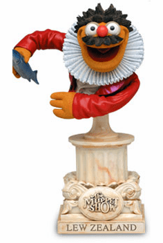 Sideshow Collectibles The Muppet Show Lew Zealand Bust