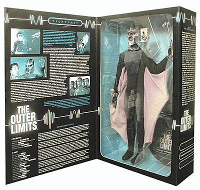 Sideshow Outer Limits Ebonite Interrogator Figure