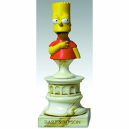Sideshow The Simpsons Bart Simpson Polystone Bust