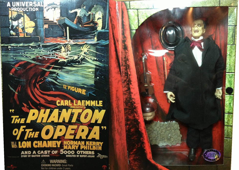 Sideshow Toys Lon Chaney Jr. Phantom of the Opera Figure