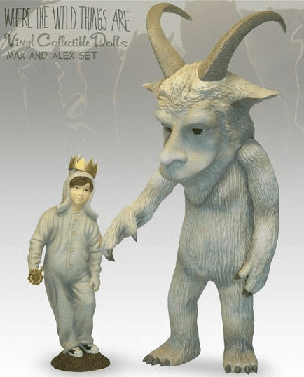 Sideshow Where The Wild Things Are Max & Alexander Vinyl Collectible