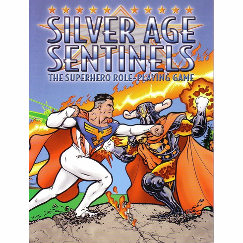 Silver Age Sentinels RPG Game Master's Screen