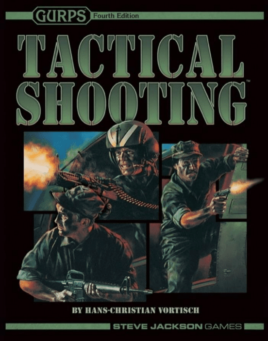 SJG Gurps 4th Edition Tactical Shooting RPG Book