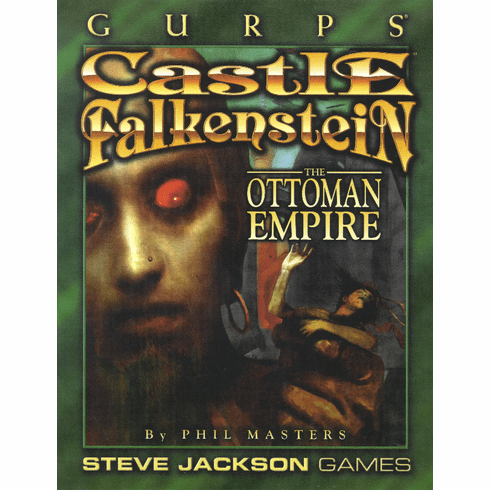 SJG GURPS Castle Falkenstein The Ottoman Empire Campaign Setting