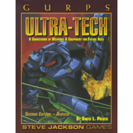 SJG GURPS Ultra-Tech 2nd Edition Revised Sourcebook