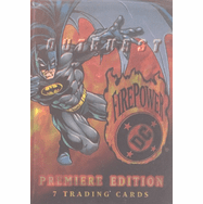 Skybox DC Comics Outburst Firepower Trading Cards Pack